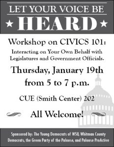 Civics 101 Workshop